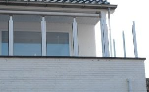 Balkon hekwerk en carbon staanders
